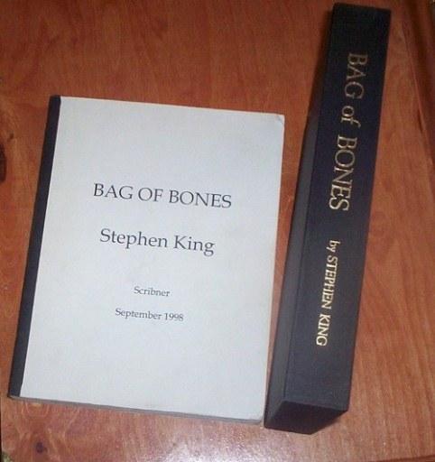 stephen king manuscripts  proofs and arc u0026 39 s bag of bones