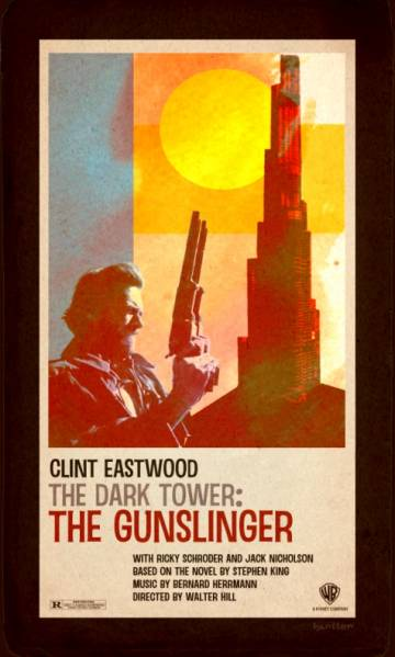 faux Dark Tower poster