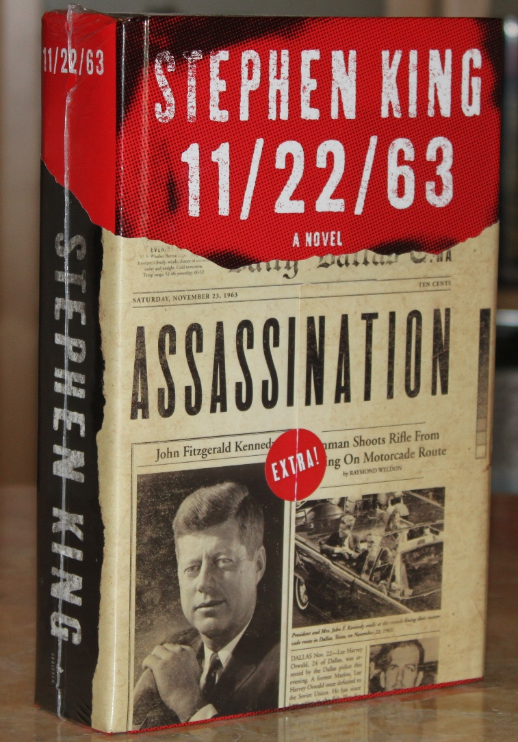11/22/63 A Novel by Stephen King, First Edition HC/DJ TV Series Tie in