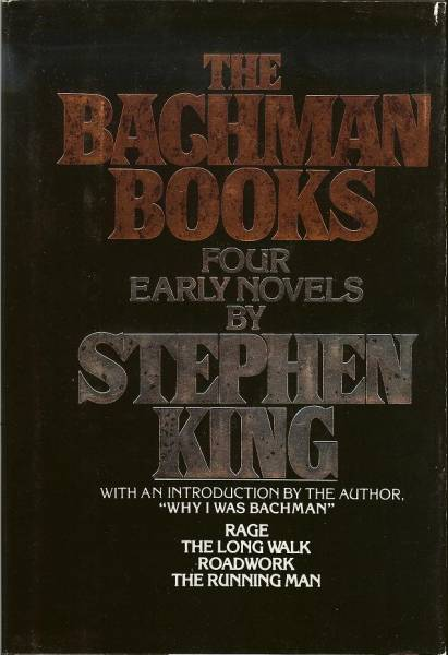 The Bachman Books Four Early Novels By Stephen King 1985 Paperback/3rd Print