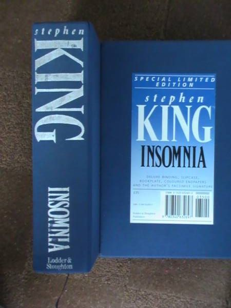 UK GIFT - INSOMNIA