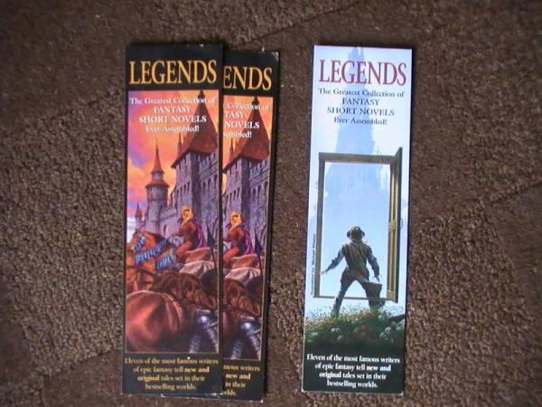Promo - Legends Bookmarks