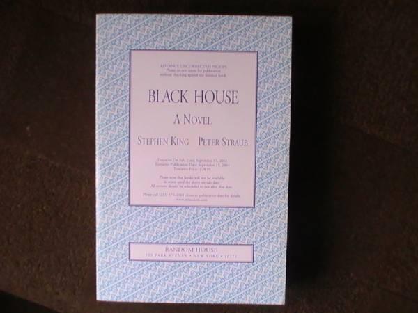 PROOF - BLACK HOUSE