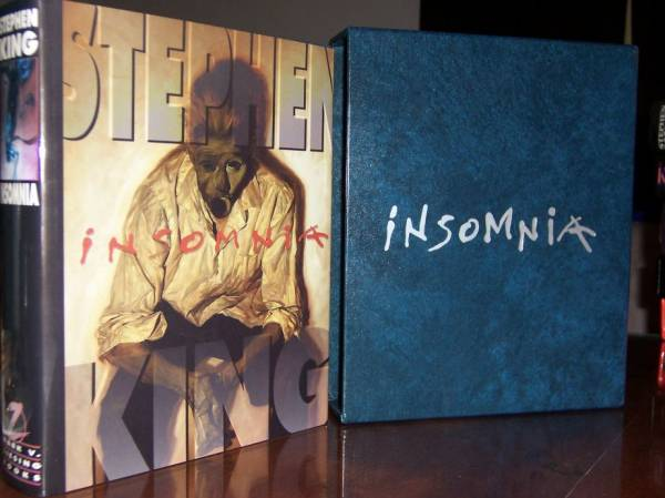 Insomnia Gift Book and Slipcase
