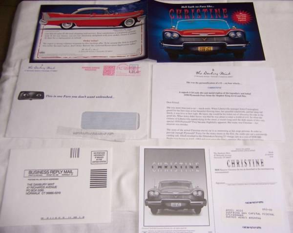 Christine catalog