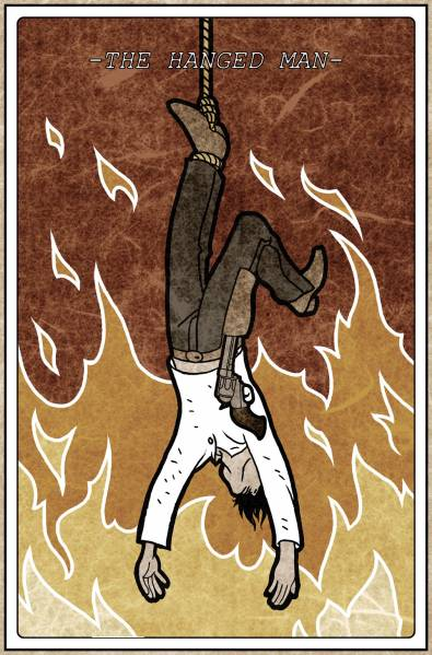 The Hanged Man Predictive Tarot Card Meanings: Tarot Card : The Hanged Man